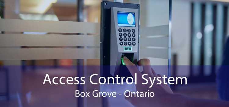 Access Control System Box Grove - Ontario