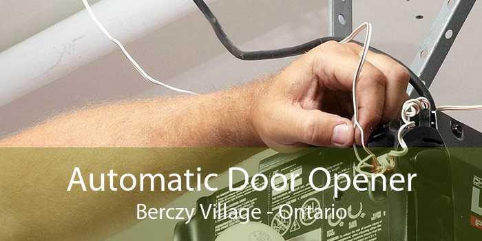 Automatic Door Opener Berczy Village - Ontario