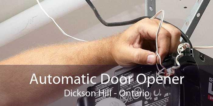 Automatic Door Opener Dickson Hill - Ontario