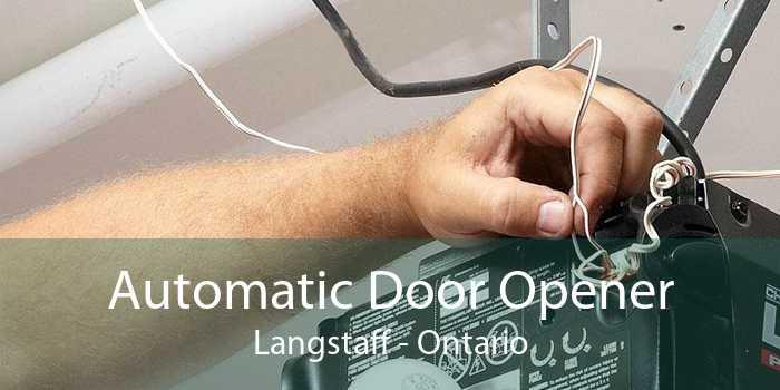 Automatic Door Opener Langstaff - Ontario