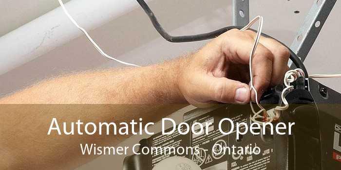 Automatic Door Opener Wismer Commons - Ontario