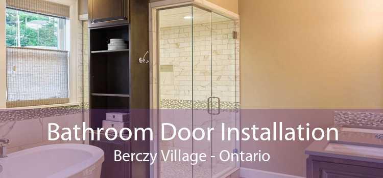 Bathroom Door Installation Berczy Village - Ontario