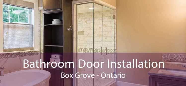 Bathroom Door Installation Box Grove - Ontario