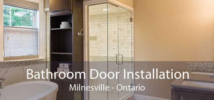 Bathroom Door Installation Milnesville - Ontario
