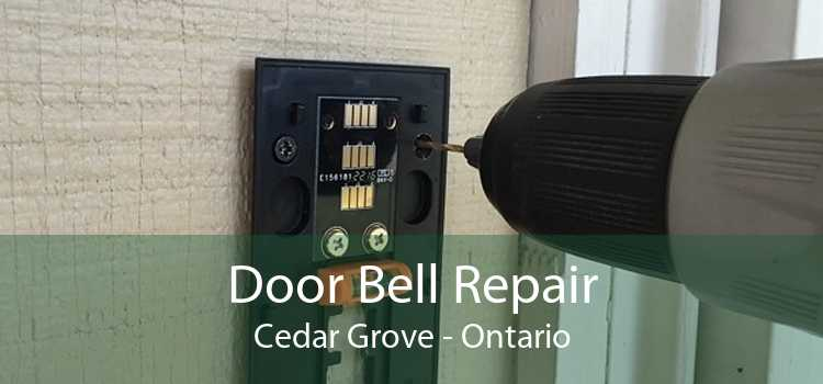 Door Bell Repair Cedar Grove - Ontario