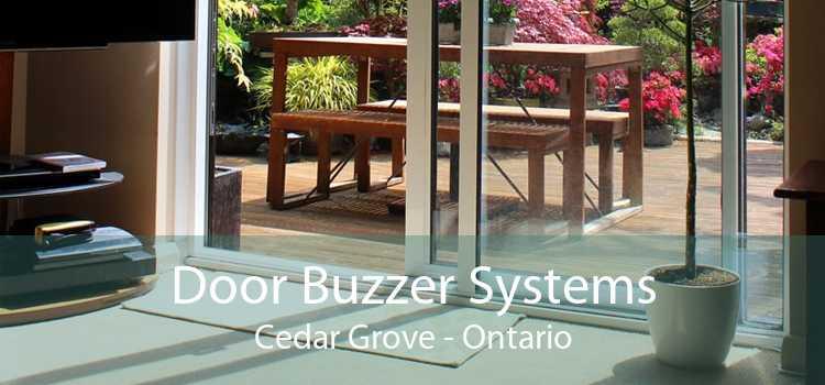 Door Buzzer Systems Cedar Grove - Ontario