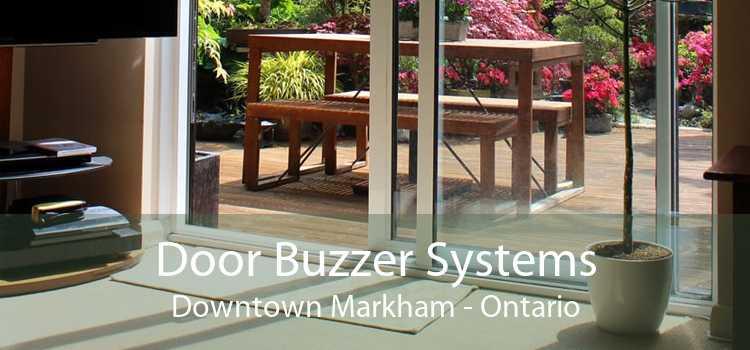 Door Buzzer Systems Downtown Markham - Ontario
