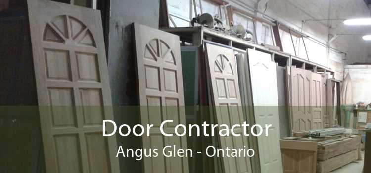 Door Contractor Angus Glen - Ontario