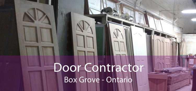 Door Contractor Box Grove - Ontario