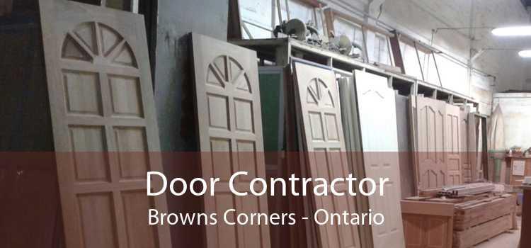Door Contractor Browns Corners - Ontario