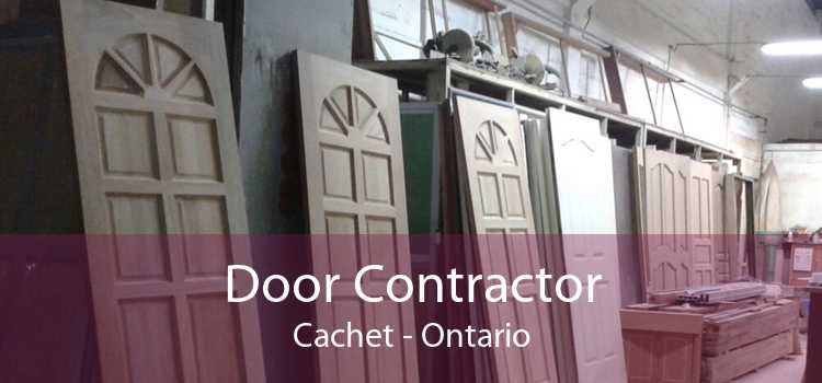 Door Contractor Cachet - Ontario