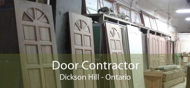 Door Contractor Dickson Hill - Ontario