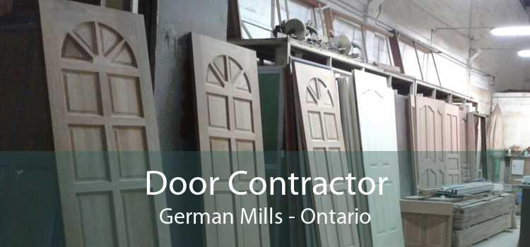 Door Contractor German Mills - Ontario