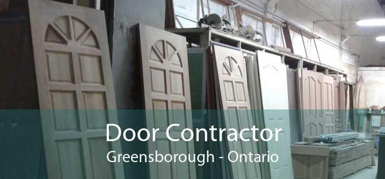 Door Contractor Greensborough - Ontario
