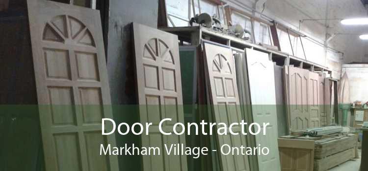 Door Contractor Markham Village - Ontario