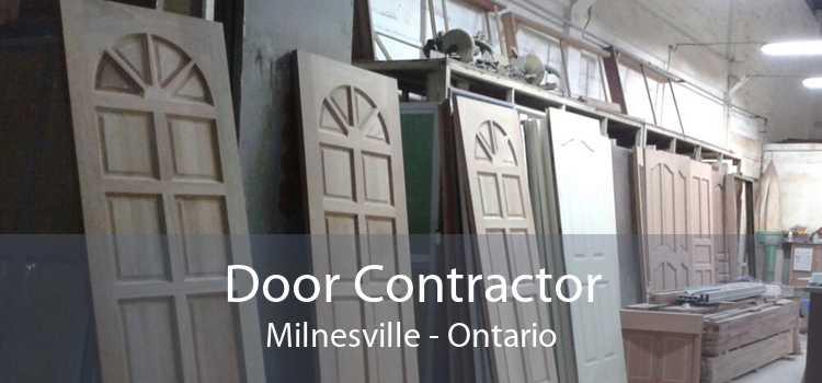 Door Contractor Milnesville - Ontario
