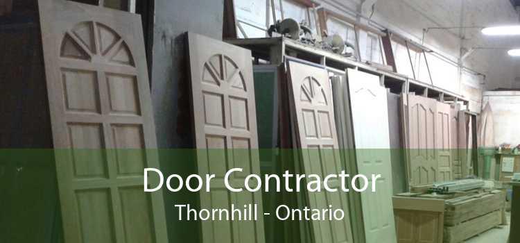 Door Contractor Thornhill - Ontario