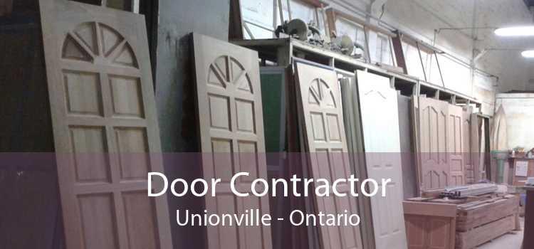 Door Contractor Unionville - Ontario