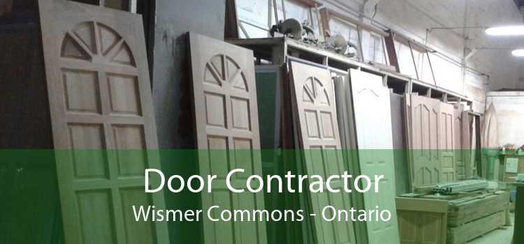Door Contractor Wismer Commons - Ontario
