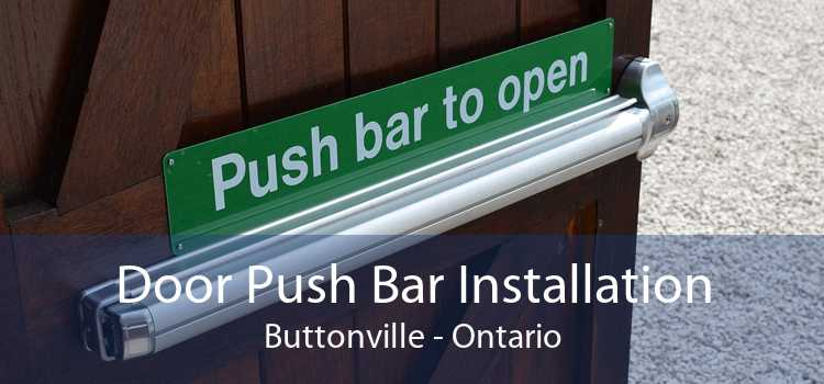 Door Push Bar Installation Buttonville - Ontario