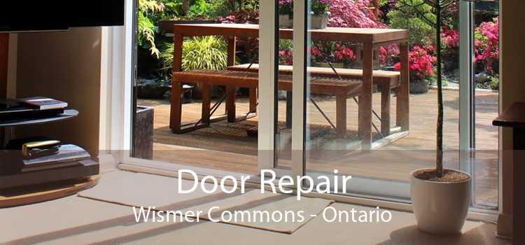 Door Repair Wismer Commons - Ontario