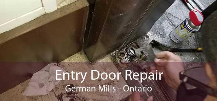 Entry Door Repair German Mills - Ontario