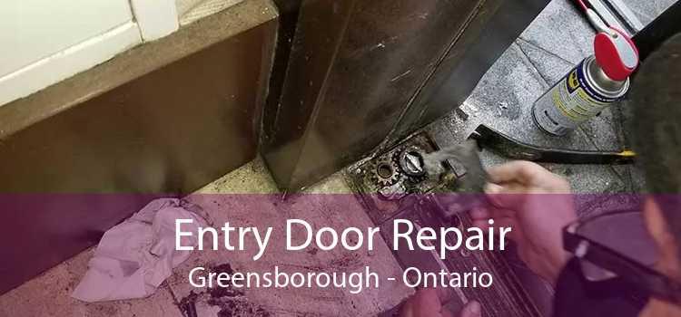 Entry Door Repair Greensborough - Ontario