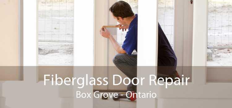 Fiberglass Door Repair Box Grove - Ontario