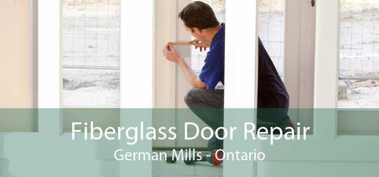 Fiberglass Door Repair German Mills - Ontario