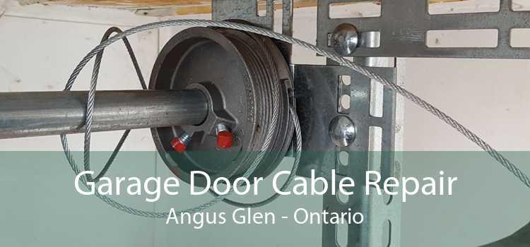 Garage Door Cable Repair Angus Glen - Ontario