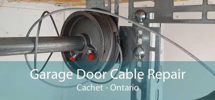 Garage Door Cable Repair Cachet - Ontario