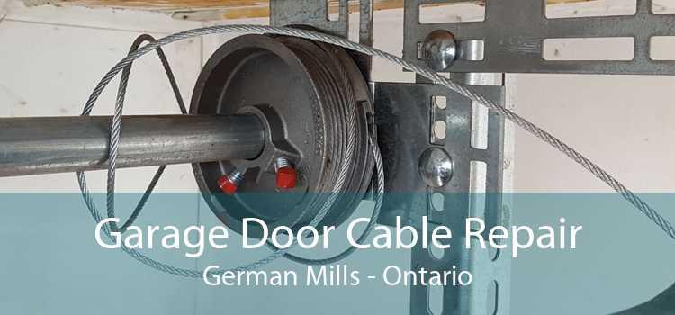Garage Door Cable Repair German Mills - Ontario