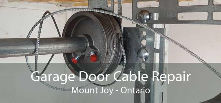 Garage Door Cable Repair Mount Joy - Ontario