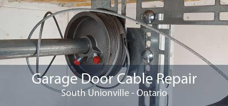 Garage Door Cable Repair South Unionville - Ontario