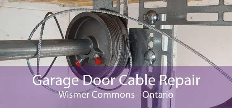 Garage Door Cable Repair Wismer Commons - Ontario