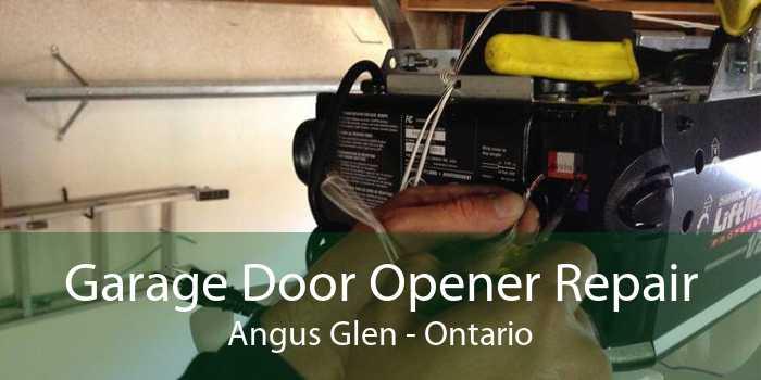 Garage Door Opener Repair Angus Glen - Ontario