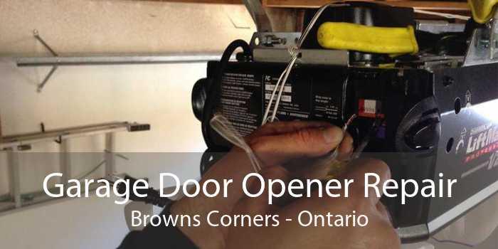 Garage Door Opener Repair Browns Corners - Ontario