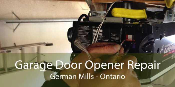 Garage Door Opener Repair German Mills - Ontario