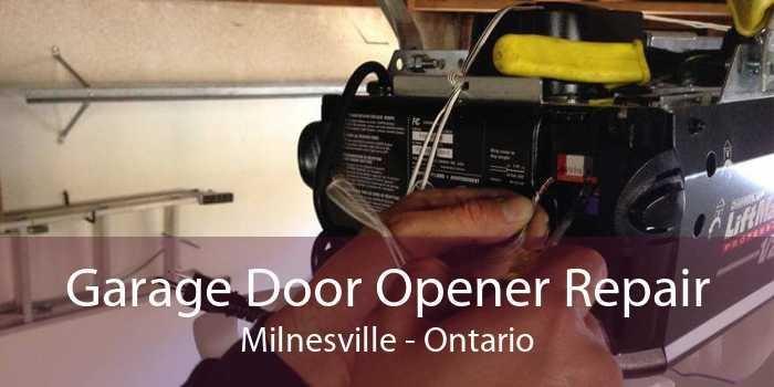 Garage Door Opener Repair Milnesville - Ontario