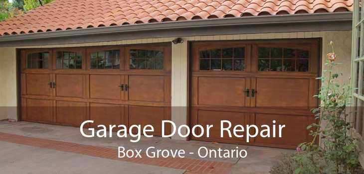 Garage Door Repair Box Grove - Ontario