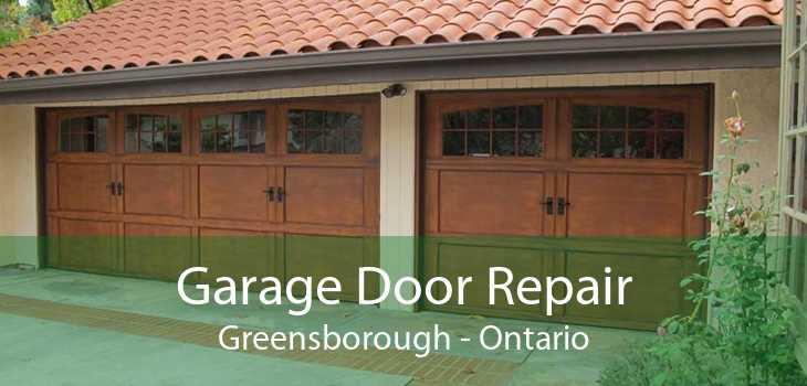 Garage Door Repair Greensborough - Ontario