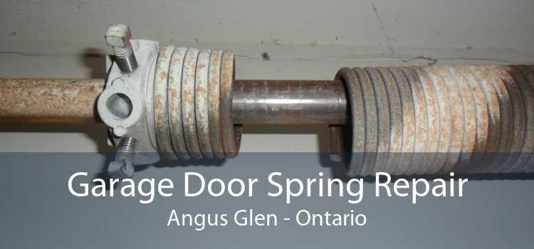 Garage Door Spring Repair Angus Glen - Ontario