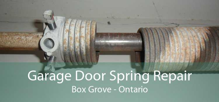 Garage Door Spring Repair Box Grove - Ontario