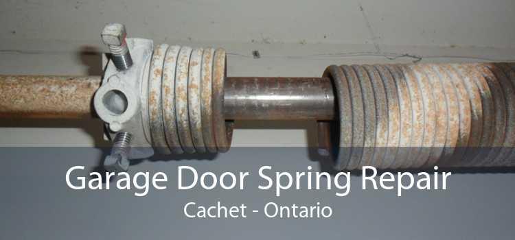 Garage Door Spring Repair Cachet - Ontario