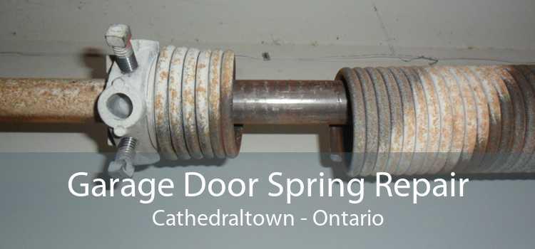 Garage Door Spring Repair Cathedraltown - Ontario