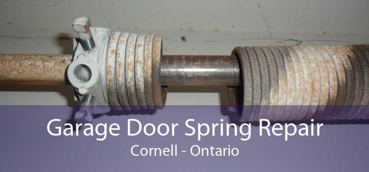 Garage Door Spring Repair Cornell - Ontario