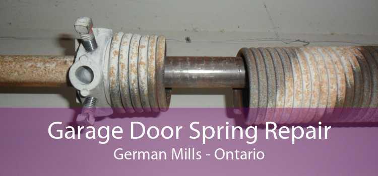 Garage Door Spring Repair German Mills - Ontario