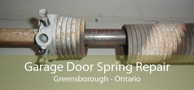 Garage Door Spring Repair Greensborough - Ontario