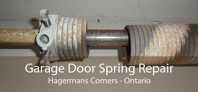 Garage Door Spring Repair Hagermans Corners - Ontario