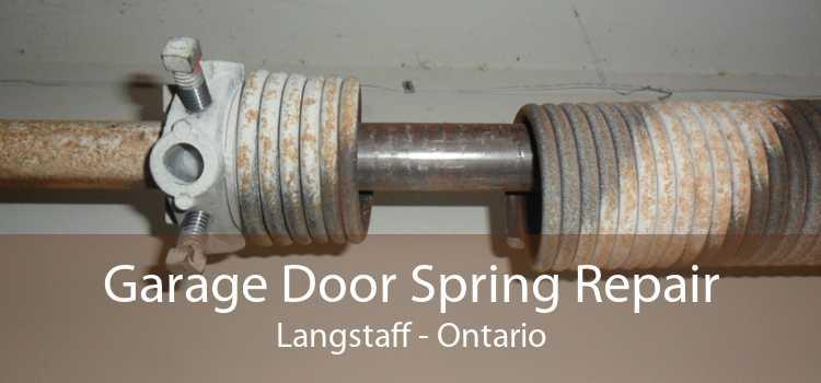 Garage Door Spring Repair Langstaff - Ontario
